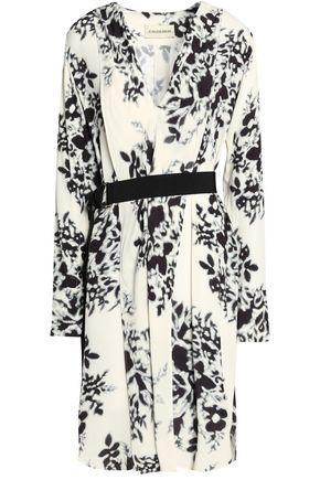 BY MALENE BIRGER Belted floral-print crepe dress