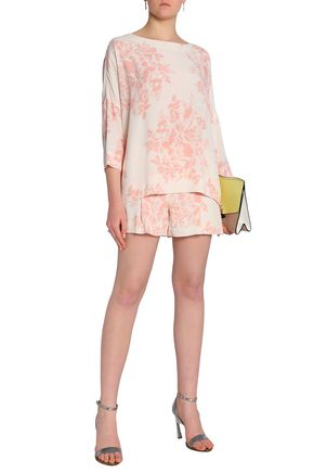 BY MALENE BIRGER Floral-print crepe blouse