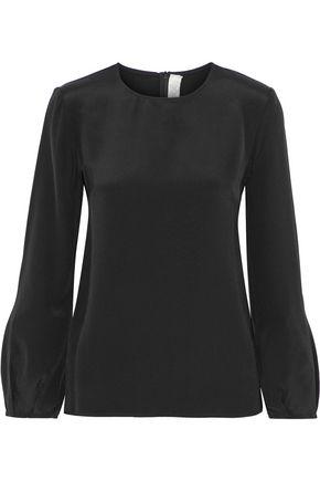 GOAT Elspeth washed-silk blouse