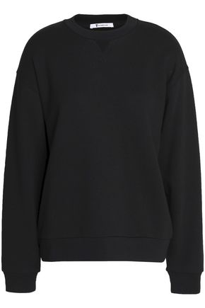 T by ALEXANDER WANG Cotton-blend terry sweatshirt