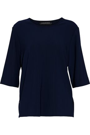 BY MALENE BIRGER Embroidered crepe top