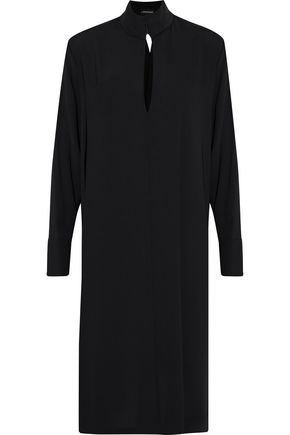 BY MALENE BIRGER Ekual draped crepe de chine dress