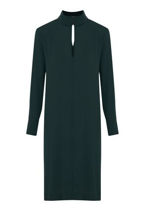 BY MALENE BIRGER Wrap-effect cutout crepe dress