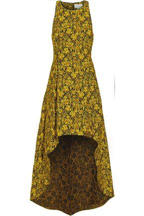 SACHIN & BABI Emerald brocade gown