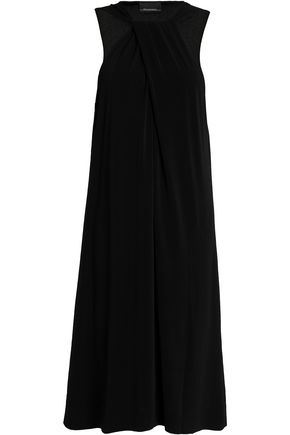 BY MALENE BIRGER Twist-front crepe dress