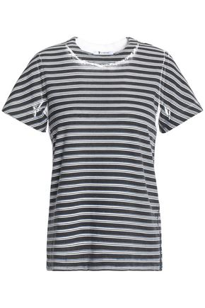 T by ALEXANDER WANG Printed cotton-jersey T-shirt