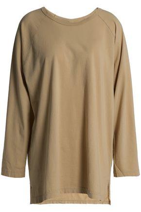 OAK Oversized cotton-jersey top