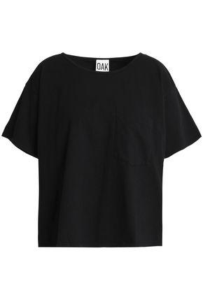 OAK Slub cotton-jersey T-shirt