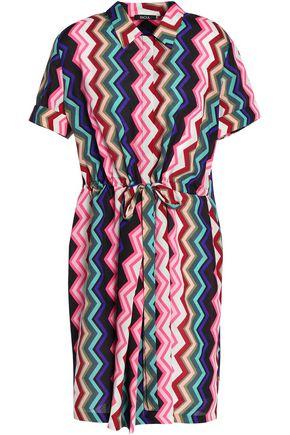RAOUL Printed crepe shirt dress