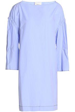 3.1 PHILLIP LIM Gathered cotton-poplin dress