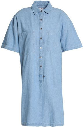 DEREK LAM 10 CROSBY Cotton-chambray shirt dress