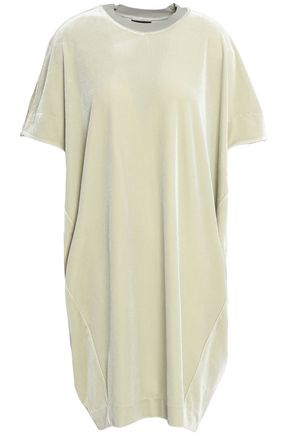BY MALENE BIRGER Draped velvet mini dress
