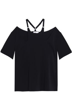 A.L.C. Cutout crepe top