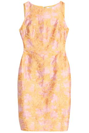 BADGLEY MISCHKA Cutout stretch-crepe dress