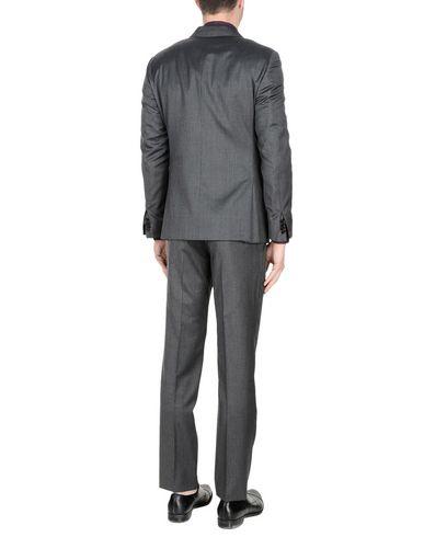 Фото 2 - Мужской костюм I SARTI свинцово-серого цвета
