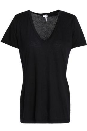 SPLENDID Modal-blend slub-jersey T-shirt