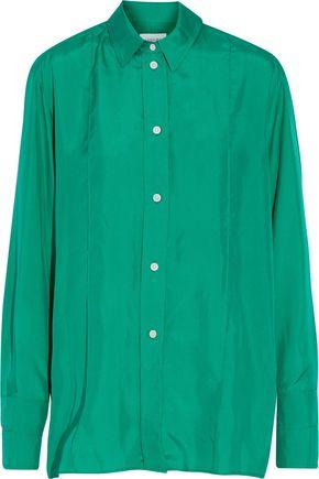 LEMAIRE Silk-satin shirt