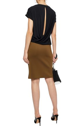 BY MALENE BIRGER Senato draped wrap-effect crepe top