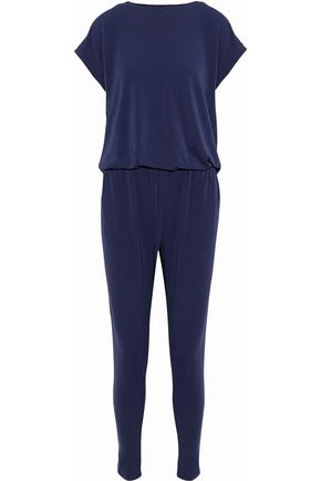 BY MALENE BIRGER Draped stretch-crepe jumpsuit