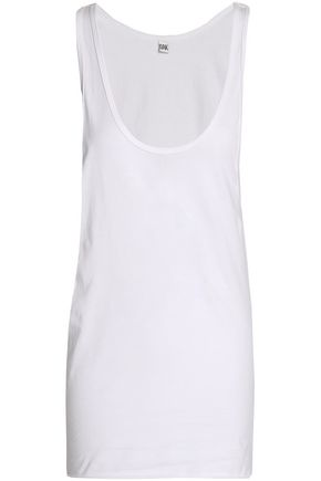 OAK Draped cotton-jersey tank