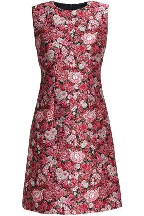 ADAM LIPPES Brocade mini dress