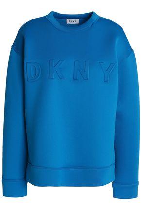 DKNY Embossed neoprene sweatshirt