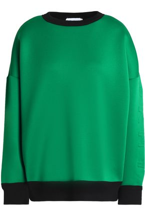 DKNY Embossed neoprene sweatshirt