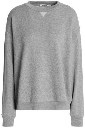T by ALEXANDER WANG Cotton-blend terry sweatshirt