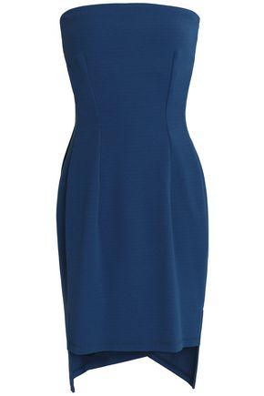 DKNY Strapless ponte mini dress