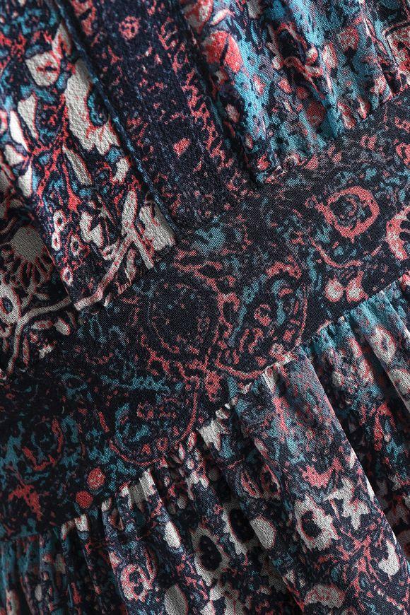984e044f78 Agnece printed silk crepe de chine maxi dress