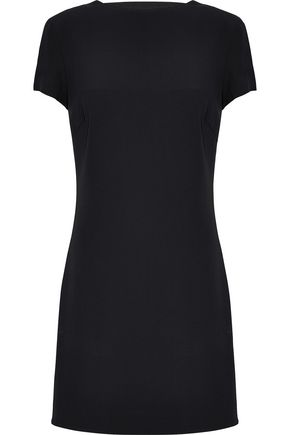 Cutout Crepe Mini Dress by Helmut Lang