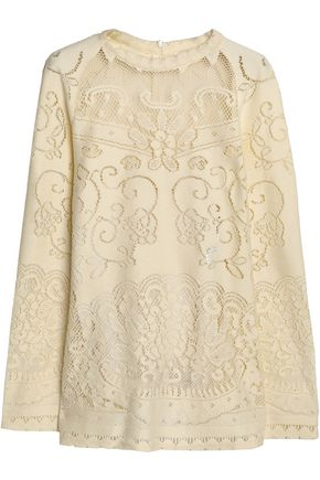 SEE BY CHLOÉ Pointelle-knit sweater