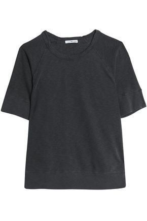 JAMES PERSE Supima cotton-terry T-shirt