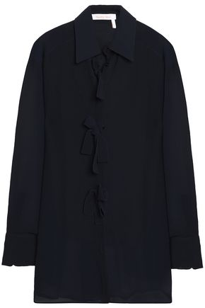 SEE BY CHLOÉ Bow-detailed chiffon blouse