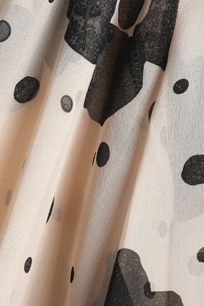 SEE BY CHLOÉ Printed silk-chiffon blouse