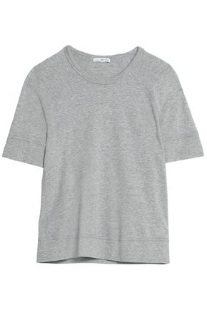 JAMES PERSE Mélange cotton-terry T-shirt