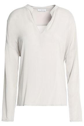 JAMES PERSE Stretch-jersey blouse