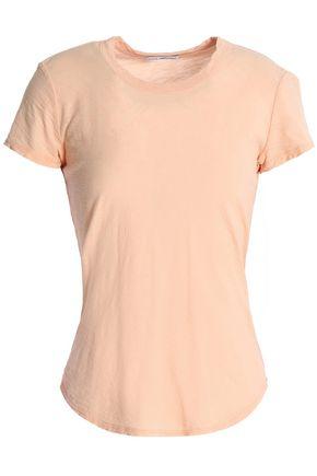 JAMES PERSE Slub cotton-jersey T-shirt