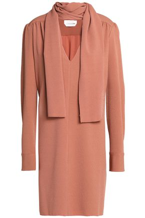 SEE BY CHLOÉ Pussy-bow crepe mini dress