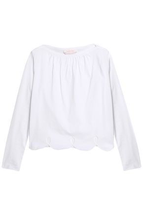 SEE BY CHLOÉ Cutout cotton-jersey top