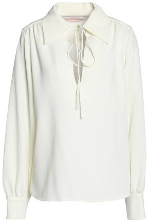 SEE BY CHLOÉ Brushed-crepe top