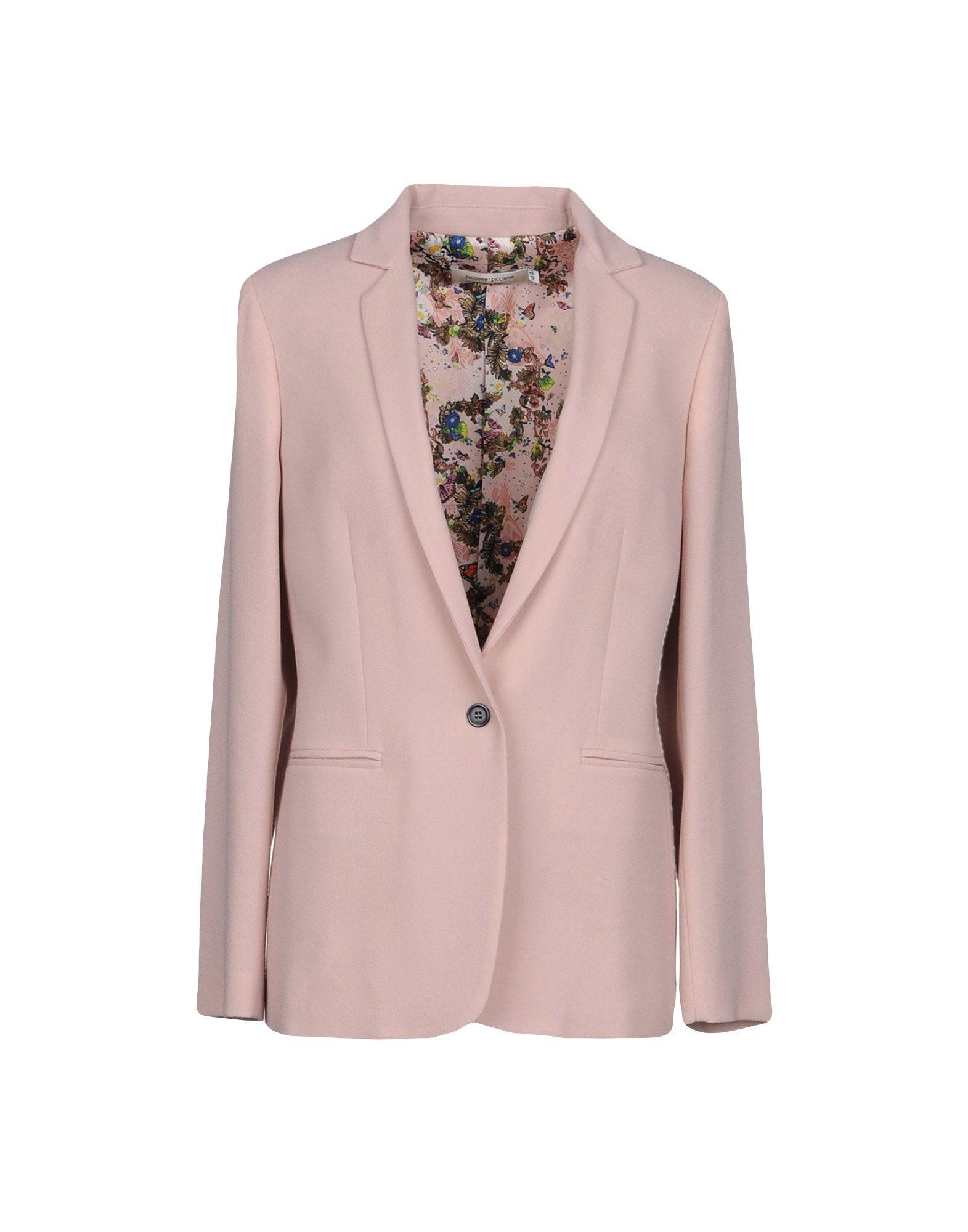 PICCIONE.PICCIONE Blazer in Pale Pink