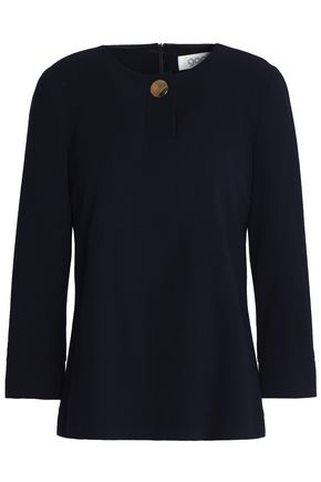 GOAT Button-detailed wool top