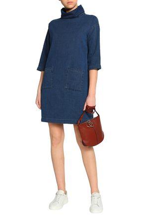 Westbourne Denim Turtleneck Mini Dress by M.I.H Jeans