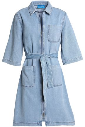 M.I.H JEANS Rolla belted denim shirt dress