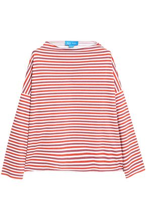 M.I.H JEANS Extra striped cotton-jersey top