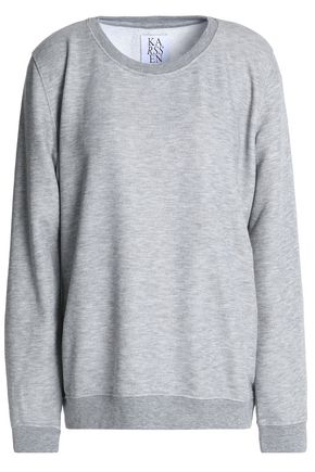 ZOE KARSSEN Mélange terry sweatshirt
