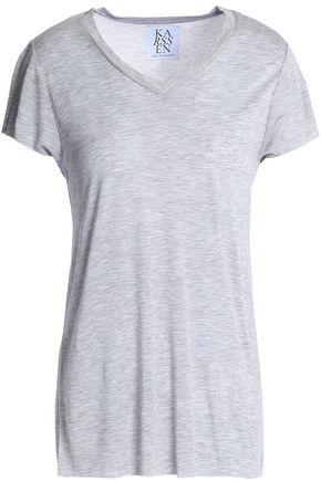 ZOE KARSSEN Cotton and modal-blend jersey T-shirt