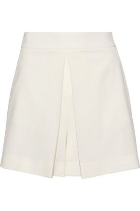 Pleated Twill Shorts by Alexander Wang