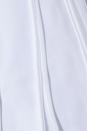ALEXANDER WANG Cutout cotton-poplin top